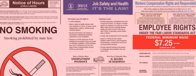 Required Labor Law Posters