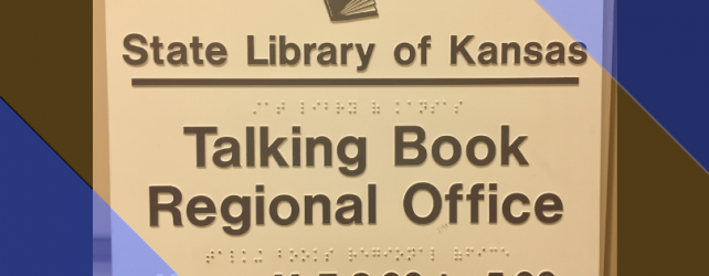 Kansas Talking Books Tour